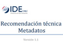 METADATOS IDE CHILE-news